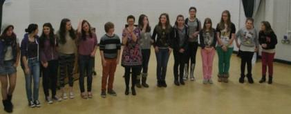 Miss Mott's Mob concert at Okehampton College