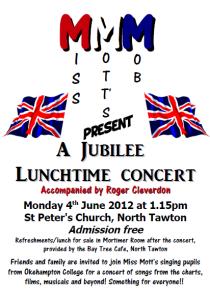 Jubilee concert poster
